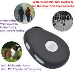 Mini Waterproof 3G GSM Personal GPS Tracker Locator Elderly Fall Detection SOS