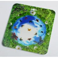Cheap OK3D 3D flip morph zoom animation explosion twist compress rotation zig zag lenticular printing mouse pads for promotion for sale