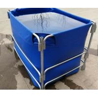 Cheap 1500L High Opacity Removable Fish Pond , Plastic Ponds For Fish Farming for sale