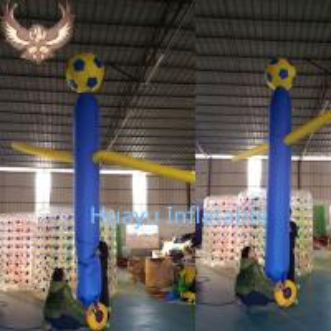 Cheap inflatable soccer air dancer sky dancer for sale