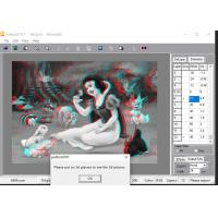 Cheap PSDTO3D lenticular software certificate of copyright and PSDTO3D Advanced version 3d lenticular software designs for sale