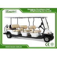 Buy cheap 11 Passenger Electric Sightseeing Car 48V Trojan Battery /Curtis Controller from wholesalers