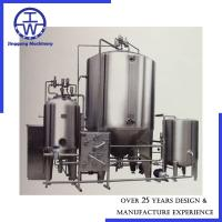 Cheap Industrial Yeast Propagation System Polishing Below 0.4um Easy Installation for sale