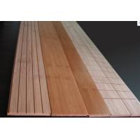 China Carbonized or Natural home radiant Heating System Bamboo Flooring on sale