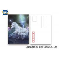 Cheap Souvenir Gift 3D Lenticular Card With Customized Logo / Lenticular Photo Printing Postcard for sale