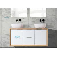 China High Moisture Resistant Double Bowl Sink Vanity Not Easy Deformation on sale