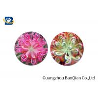 Cheap Home Decoration 3D Lenticular Coasters Cup Placemat Beautiful Flower Pattern for sale