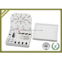 Buy cheap Small Size Fiber Optic Termination Box SC Adapters White Color For FTTH from wholesalers