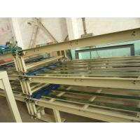 Cheap Dual Channel Roll Style System Board Making Machine for 2 - 60mm Thickness Mgo Board for sale