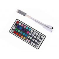 China Mini IR Remote RGB LED Strip Controller 72W 44Keys SMD 5050 Smooth Change on sale