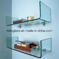 Cheap Curved Glass Shelf  (TX-1205) for sale