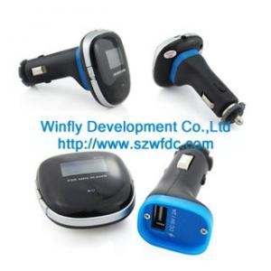 Cheap car mp3 fm transmitter , China car mp3 manufacturer for sale