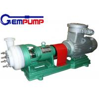 Cheap Strong oxidants Chemical Centrifugal Pump , Hydrofluoric acid pump for sale