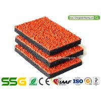 China Air - Permeable Synthetic Plastic Rubber Athletic Track For Pathway Non - pollution on sale