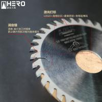 China Solid Plywood V Groove Saw Blade , Woodworking Saw Blades 75cr1 Steel Body on sale