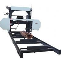 Cheap MJ1600 Portable Horizontal Band saw mill wood cutting diesel powered machine for sale