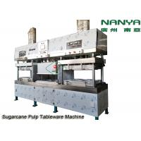 Cheap Semi - Automatic Stainless Steel Pulp Molding Equipment For Plates / Bowls / Cups for sale