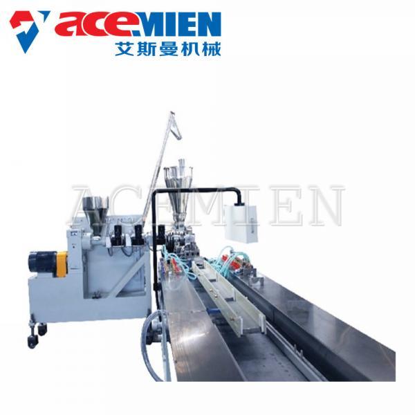 Quality Profile Tile Plastic Extrusion Equipment PVC Faux Marble Stone Strip Durable wholesale