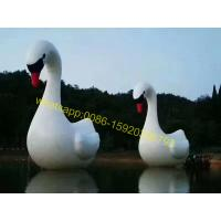 Cheap lake giant inflatable swan for sale