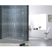 China Customized Frameless Shower Screens 8MM Easy Clean Tempered Glass CE Certification on sale