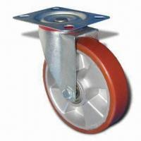 Cheap Castor, Poly-U on Aluminum Caster B, Available with or without Brake for sale