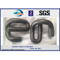 Quality E Shape 60Si2MnA 60Si2MnA Elastic Rail Clips With Oxide Black wholesale