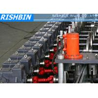 Cheap 15KW 50Hz 3 Phases Steel Frame Roll Forming Machine with 20 - 25 Steps for Door wholesale