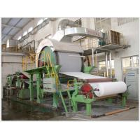 Cheap Width 3200mm Corrugated Paper Making Machine Steel Material Speed Control Alternating Current for sale