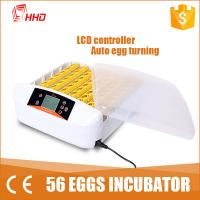 Cheap New arrival! 98% hatching rate CE approved 56 egg incubator price for home use YZ-56S wholesale