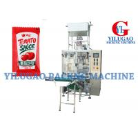 Cheap Automatic Vinegar / Sauce Packing Machine Pharmaceutical Packaging Equipment for sale