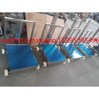Cheap Movable Bench Weighing Scale With Wheels / Back Rail 60 X 80cm 500kg ROHS Approved for sale