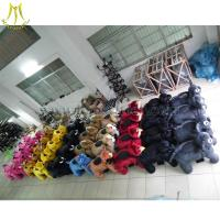Cheap Hansel High Quality Stuffed Animal Toys Walking Animal Toy Ride Scooters Animals Electric Toys for sale