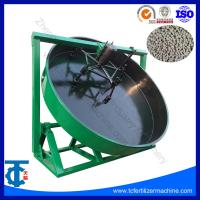 China Organic Fertilizer Granulation Equipment Disc Granulator For Fertilizer Granular on sale