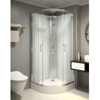 Cheap 850x850x2250mm Free Standing Quadrant Shower Cubicles for sale