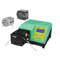Cheap Dispensing Peristaltic Liquid Dosing Pump Accuracy Green With Silicone Tubing for sale