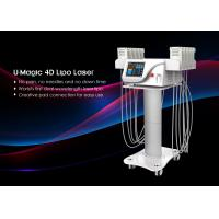 Cheap Tuv Medical Ce Smart Lipo Machine , Non Invasive Laser Lipo Machine 650nm / 940nm for sale