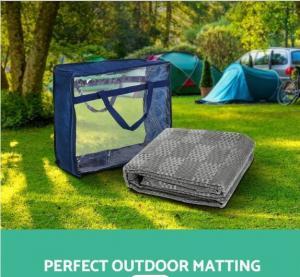 Cheap Non Slip 600gsm PVC Outdoor Camping Mat For Caravan Park for sale