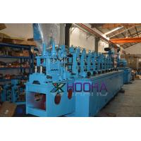 China Fast Speed MS Pipe Making Machinery Fully Automation High Accuracy ERW Tube Mill on sale