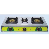 China Triple Burner Stainless Steel Gas Stoves , Auto Ignition ETL-S217 on sale