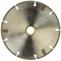 Cheap 4 Inch Diamond Cutting Blade FLAT Tipped Cutting Disc Grinding Wheel Grit 60 Coarse For Angle Grinder for sale