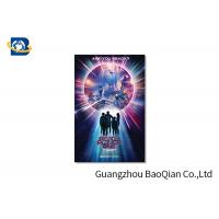 Cheap High Resolution Lenticular Greeting Cards Movie Star Photo Eco - Friendly Material for sale