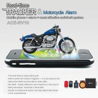 Cheap RFV10 Remote-Control Motorcycle Security AGPS LBS Tracker W/ web tracking & Alarm by SMS for sale