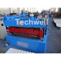 Cheap Welded Wall Plate Forming Structure Roof Roll Forming Machine 0-15m / Min Forming Speed for sale
