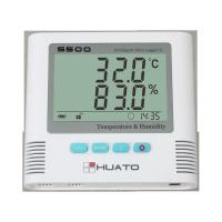 Cheap Sound Light Alarm Import Sensor High Accuracy Server Room use Temperature Humidity Data Logger for sale