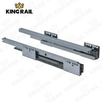 Cheap Double Steel Wall  Soft Close / Self Close Drawer Slides System KRS02 for sale