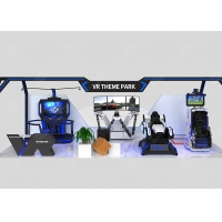Cheap Virtual Reality Interactive Gaming Center VR 9d Theme Park for sale