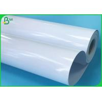 Cheap 24 Inch 36 Inch Width Roll Dye Ink 200gsm High Glossy Inkjet Paper With 100 Feet Length for sale