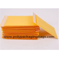 China Polythene Foam Yellow Kraft Paper Shipping Bag Envelope on sale