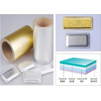 China Soft Tropical Blister Packaging Materials Aluminum Blister Foil on sale