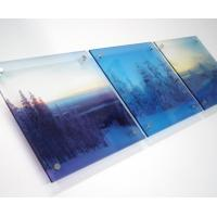 Cheap Energy Saving Uv Flatbed Printing High Resolution For Large Format Printing wholesale